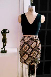 Bluesuits Black wrap Skirt