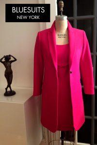 Bluesuits Long Coat and Shift Dress